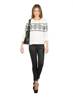 COLIN'S Beyaz Bayan Sweatshirt