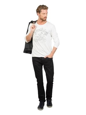 COLIN'S Beyaz Erkek Tshirt U.kol
