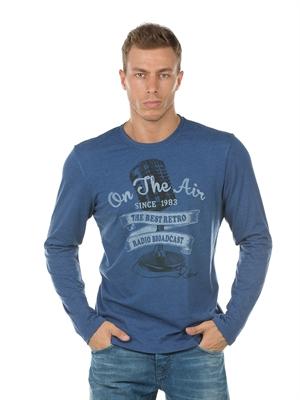 COLIN'S Mavi Erkek Tshirt U.kol