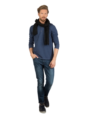 COLIN'S Lacivert Erkek Tshirt U.kol