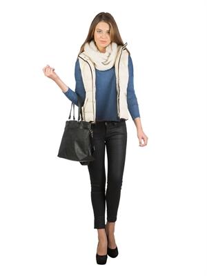 COLIN'S Mavi Bayan Tshirt U.kol