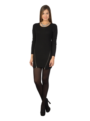 COLIN'S Siyah Bayan Elbise