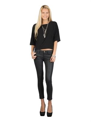 COLIN'S Siyah Bayan Gömlek U.kol