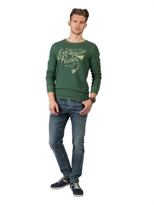 COLIN'S Yeşil Erkek Tshirt U.kol