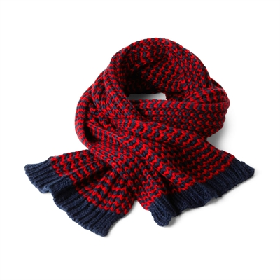 Resim KNITTED CHUNKY SCARF