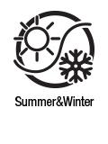 Cool in Summer, warm in Winter